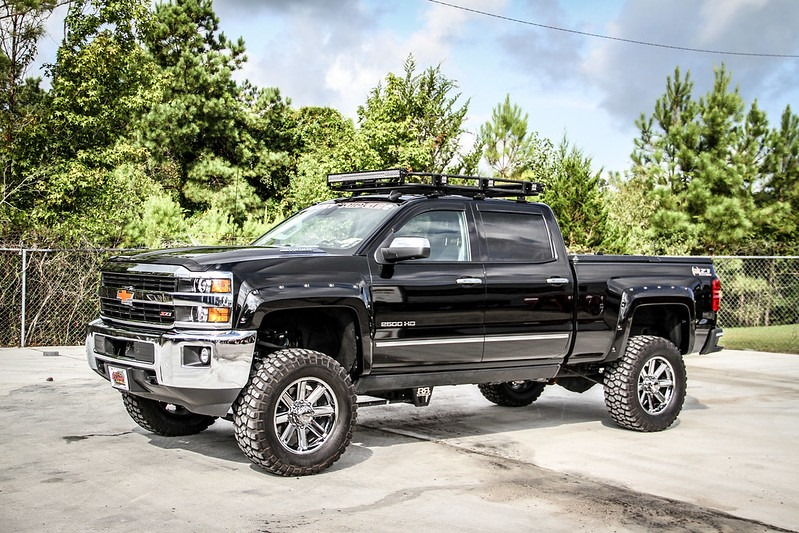 Chevy 2500HD Leveling Kit Problems & solutions